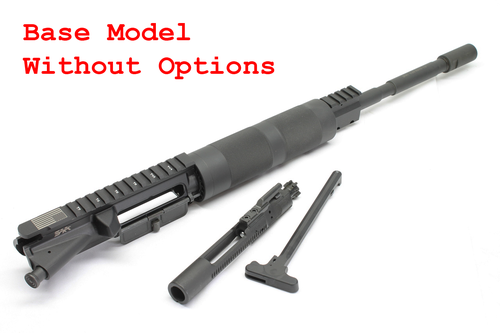 "www.surplusammo.com Billet 5.56 16"" M4 Carbine Length FF Tube Complete Upper Receiver Base Model Dragon's head"