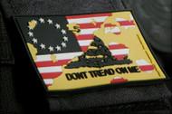 Don't Tread On Me PVC Velcro Morale Patch Surplus Ammo