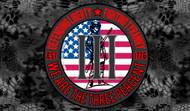 We Are The Three Percent | Vinyl Sticker Defending Liberty Fighting Tyranny Est. 1776 Surplus Ammo