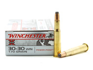 Surplus Ammo | Surplusammo.com .30-30 Win 170 Grain Power Point Winchester Super-X Rifle Ammunition WNX30303
