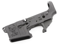 "Surplusammo.com | Surplus Ammo SAA SA-15 Forged ""Skull"" AR15 Stripped Lower Receiver SAA-SA15SK"