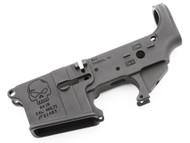 "Surplusammo.com | Surplus Ammo SAA SA-15 Forged ""Skull"" AR15 Stripped Lower Receiver SAA-SA15SK"