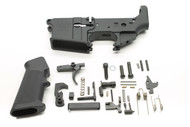 Surplusammo.com Anderson AM-15 AR15 Rifle / Pistol Lower Receiver Stripped Lower Receiver + Lower Parts Kit LPK - Unassembled