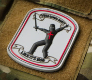 We're Gonna Party Like It's 1099 - 3D PVC Morale Patch Surplus Ammo Medieval Crusader Guy