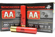 "Surplus Ammo, surplusammo.com .410 Gauge Winchester Super Sport 2-1/2"" 1/2oz #8 Shot"