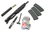 "SAA KIT - 5.56 10.5"" 1:7 Nitride Carbine Length M-Lok Dragon's Head Upper Receiver, LPK, 3-30 Round MOE Mags & Tube Kit - PISTOL Kit Less Lower Receiver"