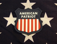 American Patriot PVC Velcro Morale Patch SurplusAmmo