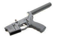 Surplus Ammo, Surplusammo.com Anderson AM-15 AR15 Complete Lower with ERGO Grip, SAA Pistol Tube Assembly & Winter Trigger Guard (integral)