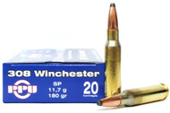 Surplus Ammo, Surplusammo.com .308 Win 180 Grain SP Prvi Partizan PPU PP3.27
