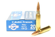 Surplus Ammo, Surplusammo.com 7.5x54mm French MAS 139 Grain FMJ Prvi Partizan Ammunition
