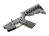 Surplus Ammo, Surplusammo.com Colt Sporter AR15 Complete Lower with Hogue Grip, Collapsing Stock & Winter Trigger Guard (integral) CLTSPTR-1