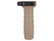 Surplus Ammo, Surplusammo.com TangoDown Quick-Detach Vertical Forend AR-15 Grip - Flat Dark Earth