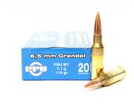 Surplus Ammo | Surplusammo.com 6.5 Grendel 110 Grain FMJ Prvi Partizan Ammunition PP6.30