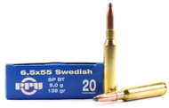 Surplus Ammo, Surplusammo.com 6.5x55 Swedish 139 Gr SP Prvi Partizan PPU Ammunition