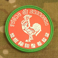 Sriracha Sauce PVC Morale Patch Surplus Ammo