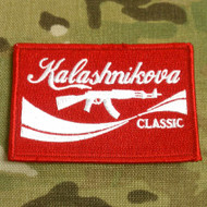 Kalashnikova Classic Embroidered Morale Patch SurplusAmmo.com