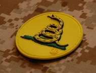 Gadsden Snake Flag - Don't Tread On Me - PVC Morale Vencro Patch surplusammo.com