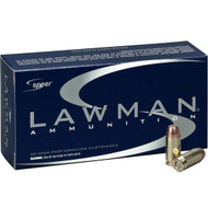 Surplus Ammo | Surplusammo.com 40 S&W 180 Grain TMJ Speer Lawman LE Ammunition 53652