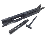 "Surplus Ammo, Surplusammo.com SAA 11"" 5.56 Carbine Length MOE Slim Line A2 Nitride Complete AR15 Pistol Upper Receiver"