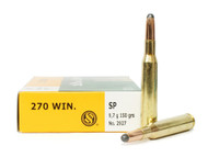 Surplus Ammo | Surplusammo.com 270 Win 150 Grain SP Sellier & Bellot Ammunition SB270A