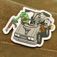 Best Dream Ever Embroidered Velcro Backed Morale Patch Slimer & Storm Trooper AK & AR Surplus Ammo
