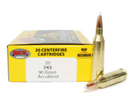 Surplus Ammo | Surplusammo.com Colorado Buck Signature Series .243 Win 90 Grain Nosler AccuBond Bullet F CB243-90gr-AB