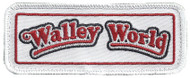 Walley World - embroidered velcro morale patch Chevy Chase's movie Family Vacation surplusammo.com