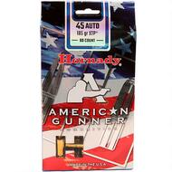Surplus Ammo | Surplusammo.com .45 ACP 185 Grain XTP Hornady American Gunner Ammunition