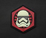 Storm Trooper First Order Parody Velcro Moral Patch Glow in the Dark Star Wars parody Surplus Ammo