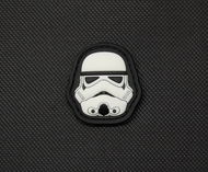 Storm Trooper Mini Parody Velcro Moral Patch Star Wars parody SurplusAmmo.com
