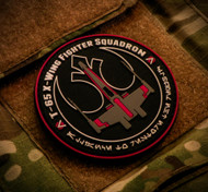 Star Wars Parody X-Wing Fighter Squadron PVC Velcro Backed Morale Patch Surplus Ammo