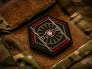 Star Wars Parody Tie Fighter Special Forces PVC Velcro Backed Morale Patch Surplus Ammo