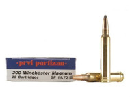Surplus Ammo | Surplusammo.com .300 Win Mag 180 Grain SP Prvi Partizan