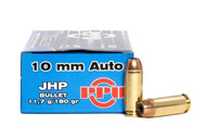 Surplus Ammo | Surplusammo.com 10mm 180 Grain JHP Prvi Partizan Ammunition