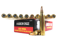 Surplus Ammo | Surplusammo.com Federal .223 Ammo 50 Gr Jacketed Hollow Point American Eagle Ammunition AE223G