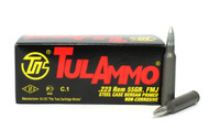 Surplusammo.com, Surplus Ammo .223 55 Grain FMJ TulAmmo Rifle Ammunition TA223100