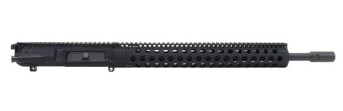 "Surplus Ammo | Surplusammo.com SAA 18"" BHW SS MLGS, Troy 15"" Alpha Series .308/7.62x51 NATO Complete AR-308 Upper Receiver, CNB - DPMS Pattern"