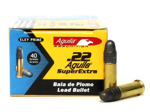 Surplus Ammo   Surplusammo.com 22 LR Aguila SuperExtra Subsonic 40 Grain LRN 1B222269