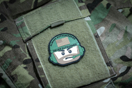 Always Outnumbered Never Outgunned | PVC Velcro Patch The Operator Morale Patch Surplus Ammo