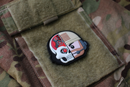 Always Outnumbered Never Outgunned | PVC Velcro Patch MechHead Operator Morale Patch Surplus Ammo