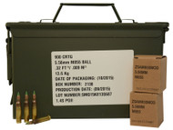 Surplus Ammo | Surplusammo.com 5.56 NATO 62 Grain Penetrator Ball SS109 Federal Lake City