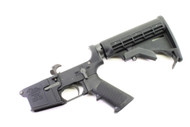 Surplusammo.com | Surplus Ammo Anderson AM-15 AR15 Complete Lower  with Collapsing Stock & Open Trigger Guard AR-15 Complete Lower Receiver AND-AM15T-UM-6