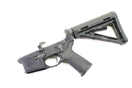 Surplusammo.com   Surplus Ammo Anderson AM-15 AR15 Complete Lower  Complete MOE Lower with Magpul MOE Collapsing Stock  AR-15 Complete Lower Receiver AND-AM15T-CS-MOE-6