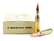 Surplusammo.com | Surplus Ammo 7.62x51 NATO 145 Grain FMJ-BT Prvi Partizan PPU M80 Ball PP7.68
