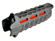 Surplus Ammo | Surplusammo.com Strike Industries Viper Handguard Carbine Length - Black with Red Heat Shield (SI-VIPER-HG-CBK-BK)