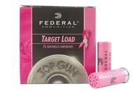 "Surplus Ammo | Surplusammo.com 12 Gauge Federal Pink Top Gun Target 2 3/4"" 1 1/8oz. #8 Shot - 25 Rounds (FDTGL12P 8)"
