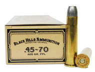 Surplus Ammo | Surplusammo.com 45-70 Govt 405 Grain Lead Flat Nose Black Hills Cowboy Action - 20 Rounds, New BH2CCB4570N1