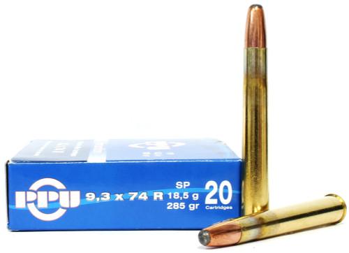 Surplus Ammo | Surplusammo.com Prvi Partizan 9.3x74mm Rimmed 285 Grain Soft Point - 20 Rounds PP9.2