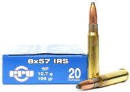 Surplus Ammo | Surplusammo.com 8x57 IRS 196 Grain SP Prvi Partizan - 20 Rounds PP8.57