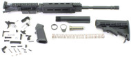 "Surplusammo.com SAA KIT 5.56 16"" M4 1:7 Nitride Carbine MLOK A2-Flash Hider, DPMS LPK, Collapsing M4 Stock - Rifle Kit Less Lower Receiver UPMLOKKITSALE"